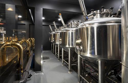 Bravo Beer tanks